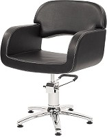 Original Best Buy Opera  Friseurstuhl Schwarz mit 5-Stern-Basis